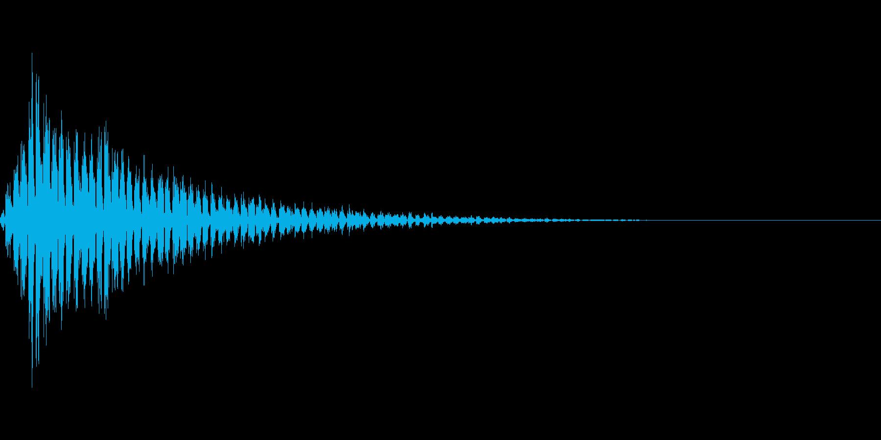 ビビビビビビビの再生済みの波形