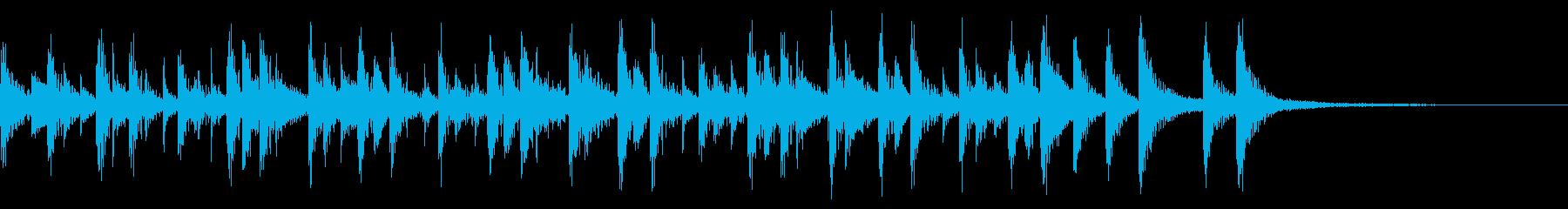 コンサルサ、ファーストテンポ、ピアノなしの再生済みの波形