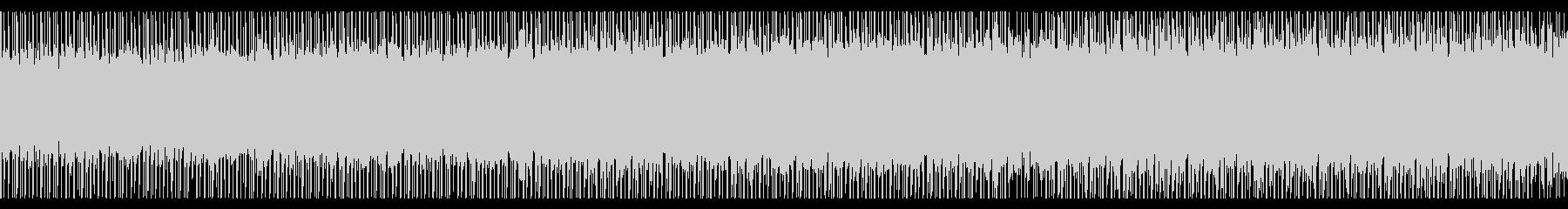 やる気を感じる(ループ)の未再生の波形