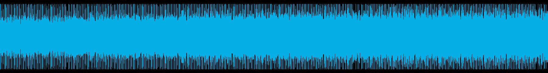 やる気を感じる(ループ)の再生済みの波形