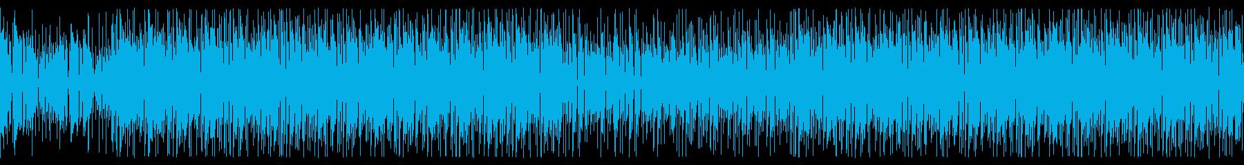 ファンク!サックスとリズムギター/生演奏の再生済みの波形