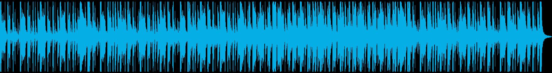 ピアノ、シンセ、ギターのファンキー...の再生済みの波形