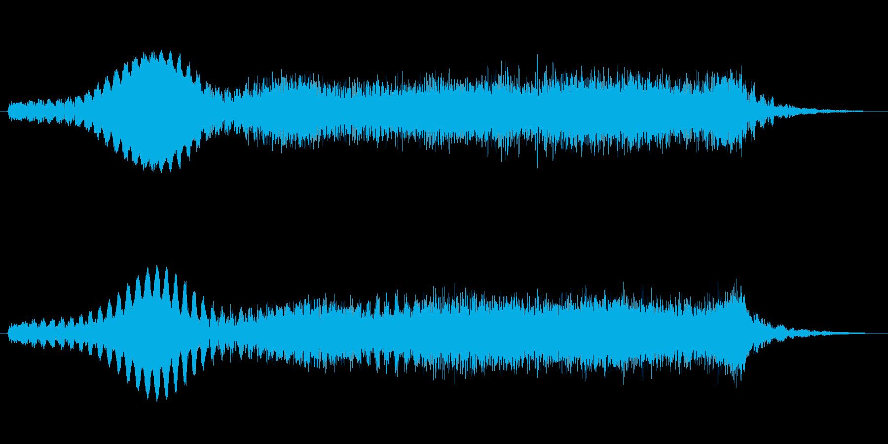 素材 ライズハムワーディープ02の再生済みの波形