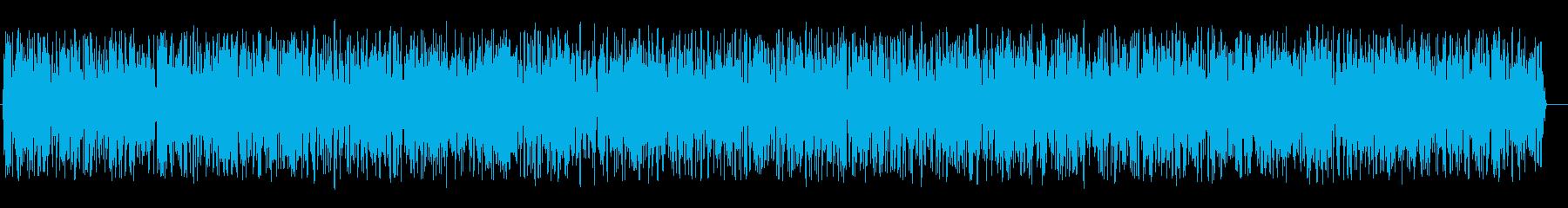 ゴォォー(ノイズ音)の再生済みの波形