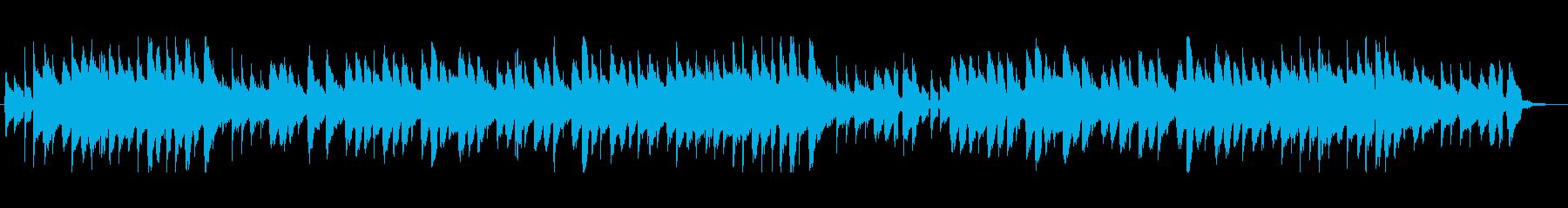 森のくまさん アコースティックギターの再生済みの波形