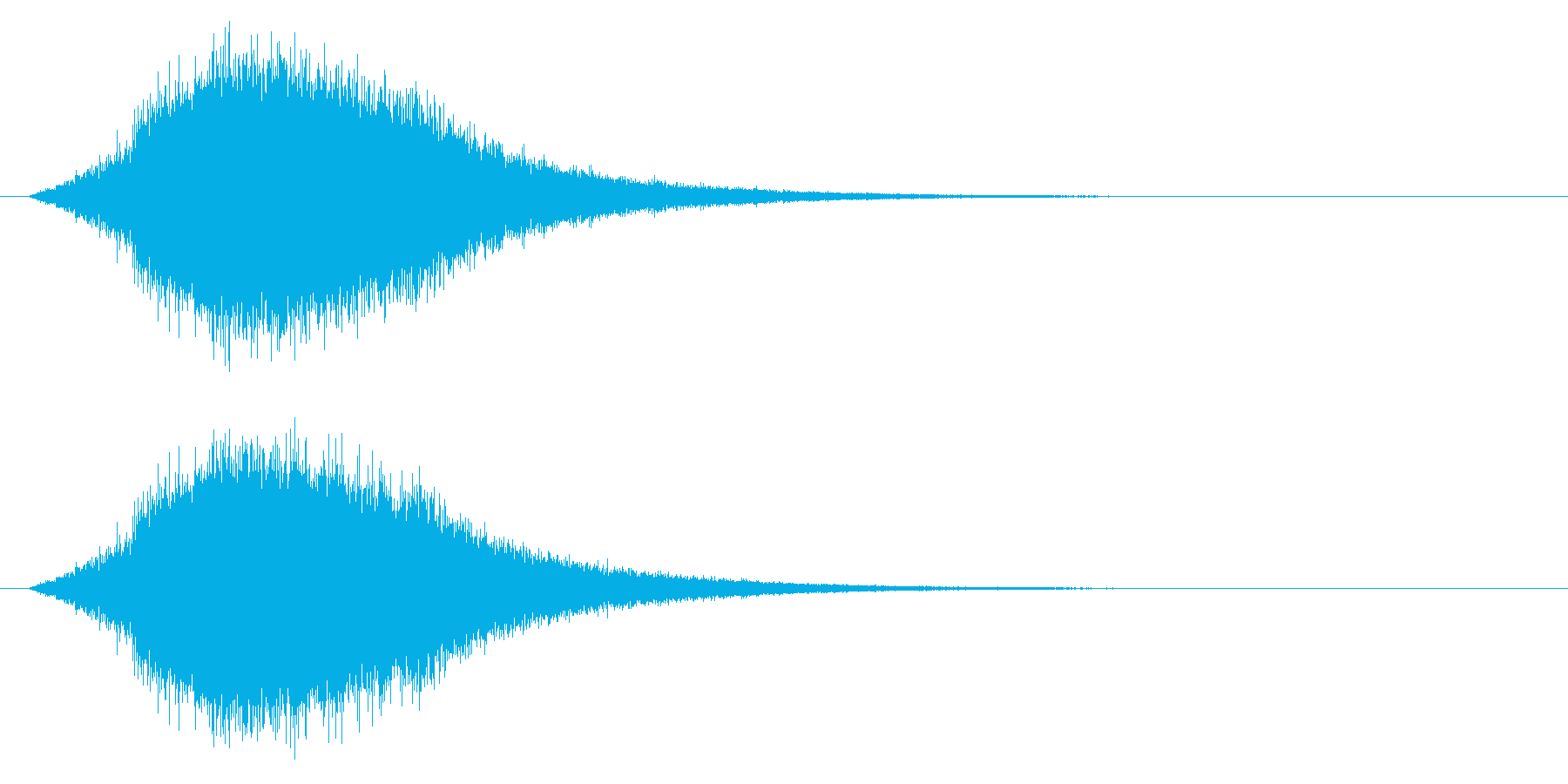 回復/キラキラ/シュワー/ポーションの再生済みの波形