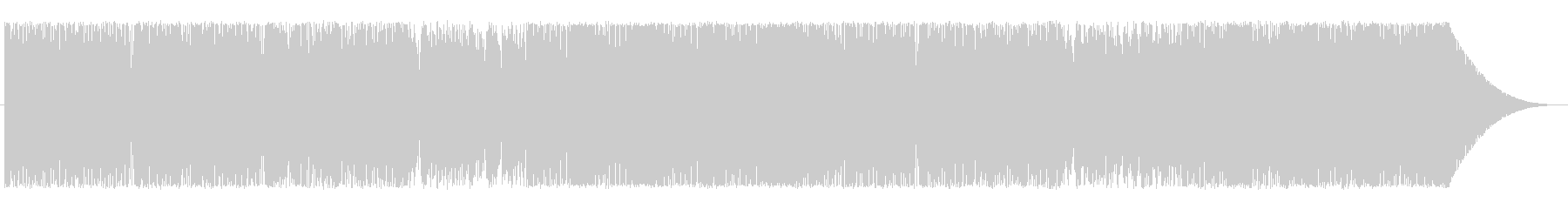 ピアノ(ハイスピード)の未再生の波形
