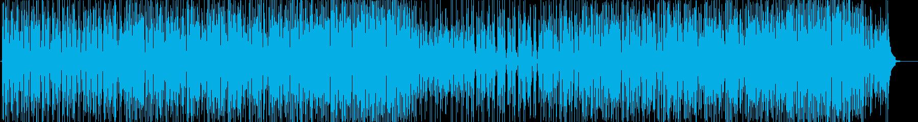 口笛の明るく爽やかなポップ曲-CM動画等の再生済みの波形