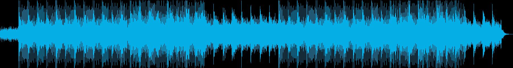 ピアノ・企業・青空・オープニング・透明感の再生済みの波形