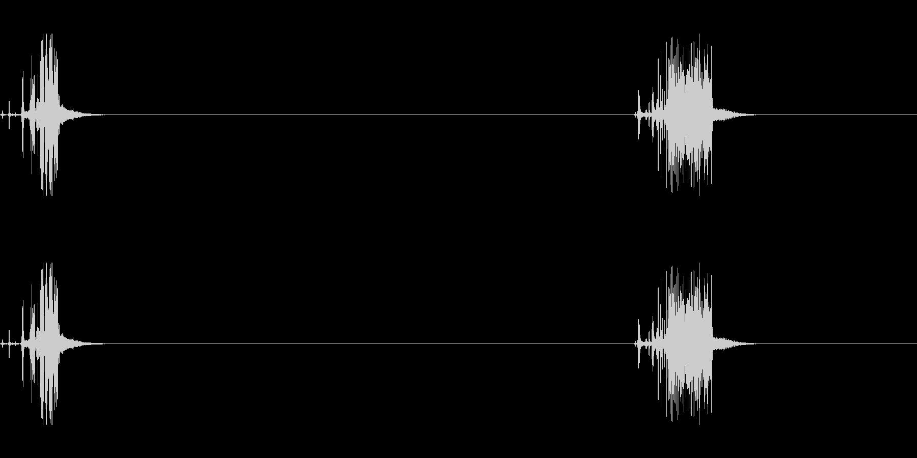 金属スクレイプセメントショートハードの未再生の波形