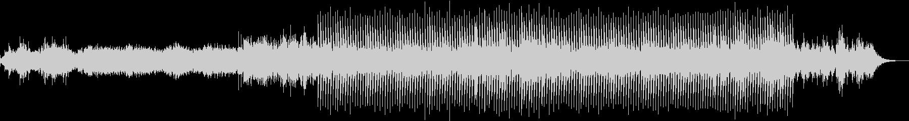 切ないピアノループが印象的なエレクトロの未再生の波形