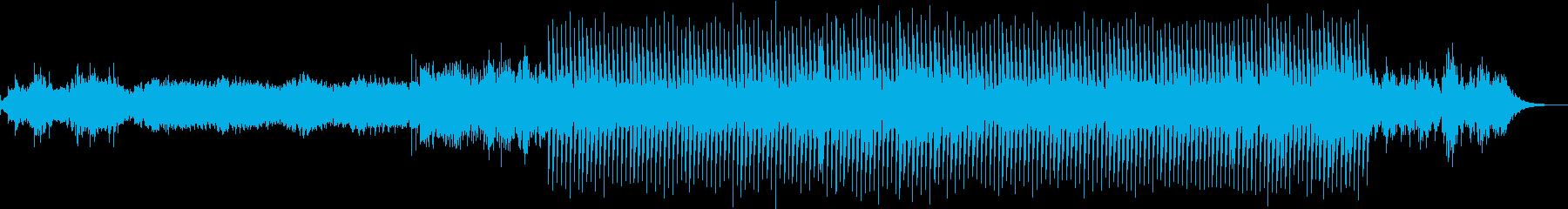 切ないピアノループが印象的なエレクトロの再生済みの波形