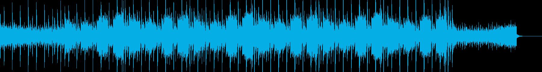 可愛い感じのエレクトロの再生済みの波形