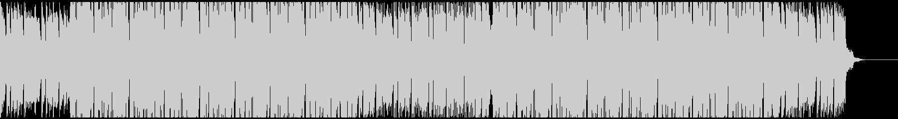 明るく軽快なポジティブヒップホップの未再生の波形