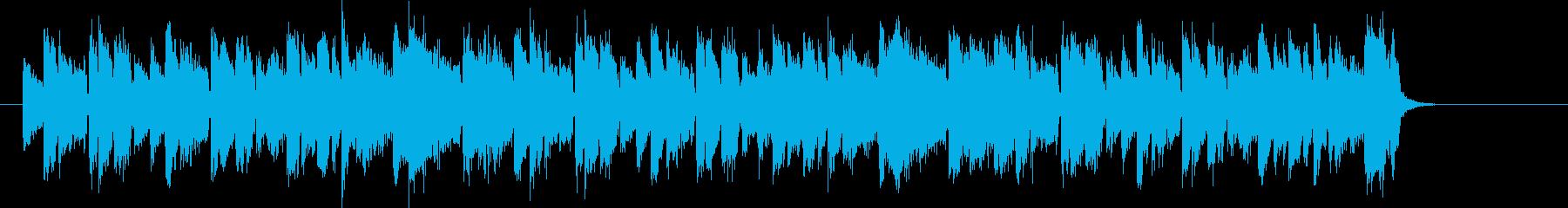メローで軽快なシンセポップジングルの再生済みの波形