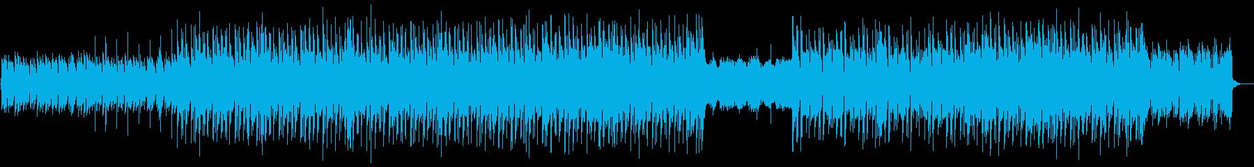 ギター・都会・切ない・哀愁・オルガンの再生済みの波形