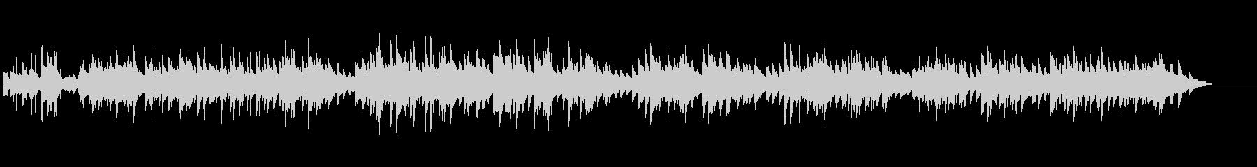 20世紀初頭のアメリカのピアノワルツ曲の未再生の波形