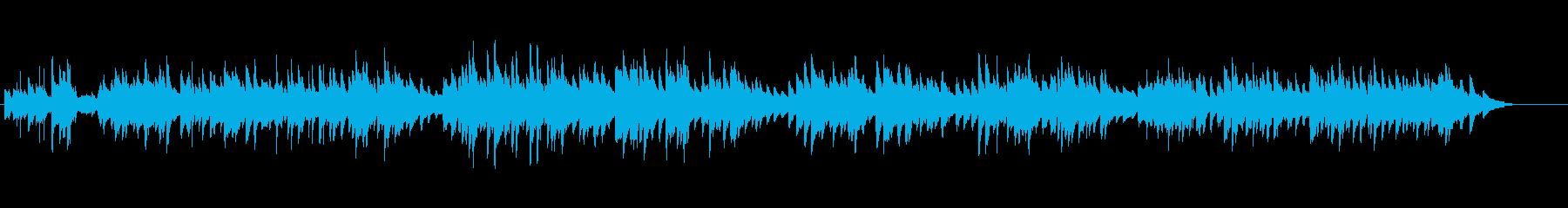 20世紀初頭のアメリカのピアノワルツ曲の再生済みの波形