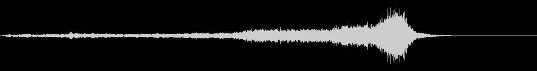 ホラー系効果音19の未再生の波形