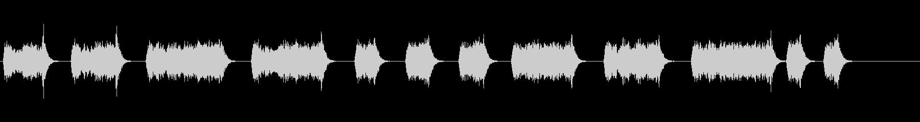 エアドリル;ショートとロングの噴出...の未再生の波形