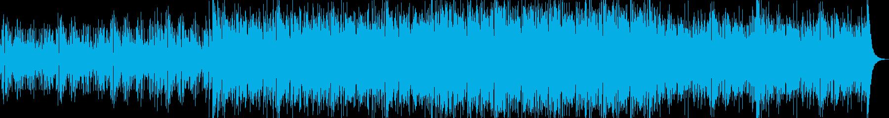 爽やかな雰囲気のハウス(novocal)の再生済みの波形