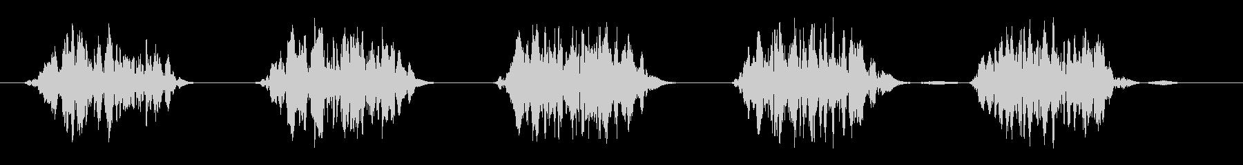 ヒュンヒュンヒュン(風が舞う音)の未再生の波形