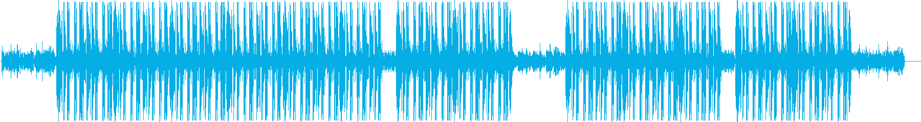 トラップ、ヒップホップ、ローファイ♫の再生済みの波形
