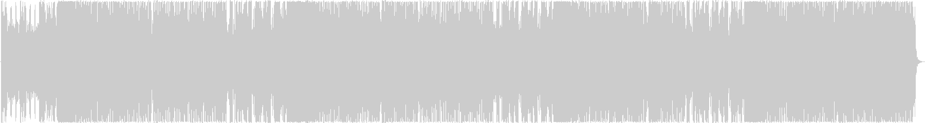 洋楽、攻撃的ドラムン・ベーストラックの未再生の波形