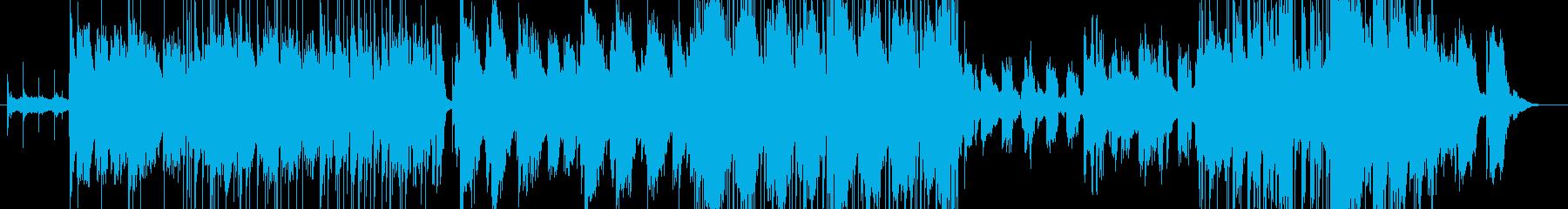 モダンでR&Bな曲の再生済みの波形