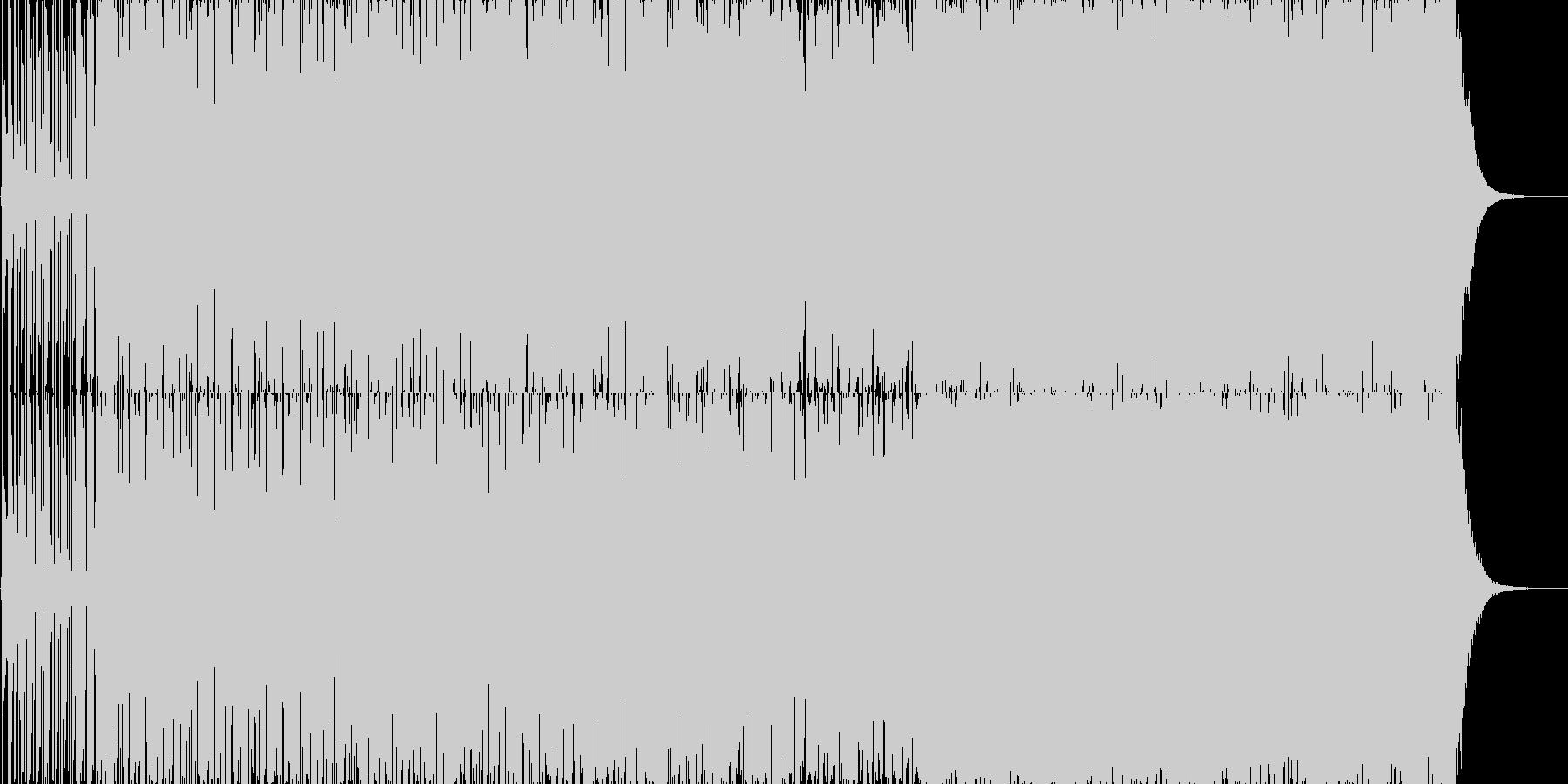 不思議な空間の未再生の波形
