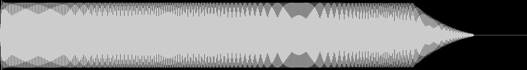 メタルコアベースドロップ D2→D1の未再生の波形
