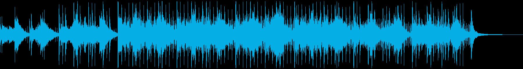 モダンで柔らかなエレクトロニカ、ショートの再生済みの波形