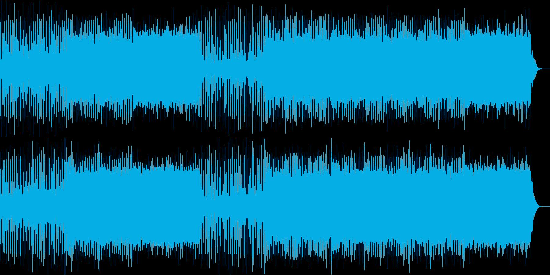 解説中に流れていそうなアンビエントの再生済みの波形