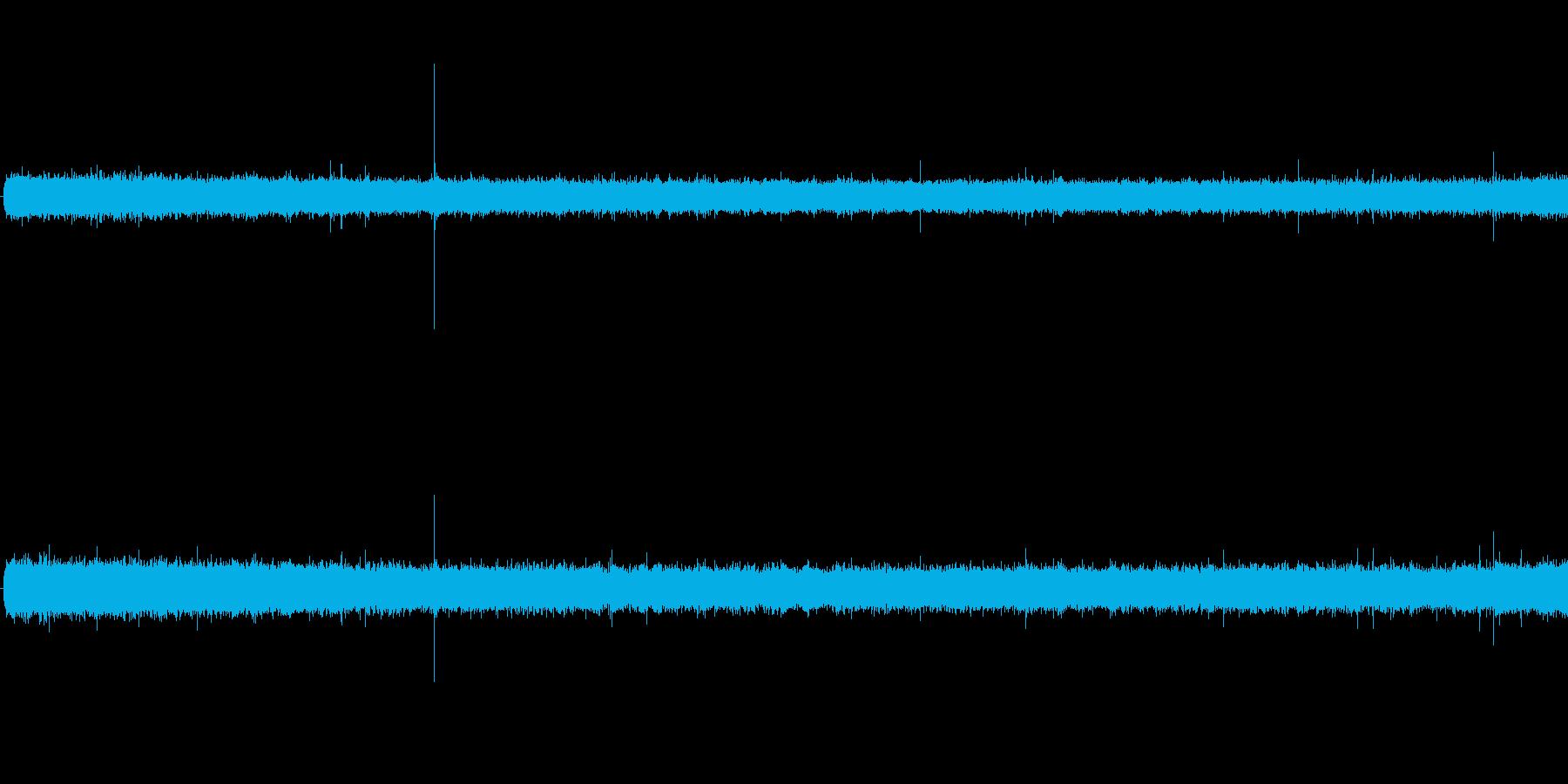 雨音(サーサー)の再生済みの波形