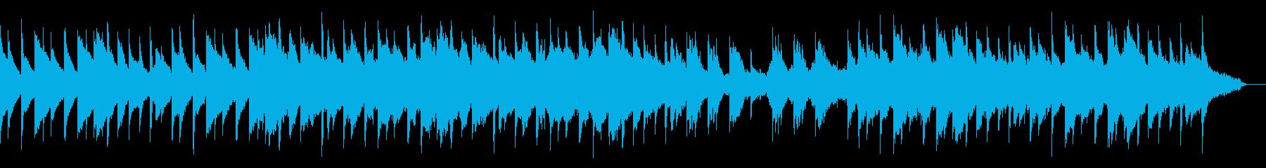 アコースティックギターとチェロのバラードの再生済みの波形