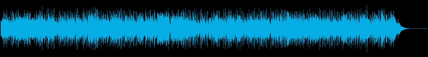 ほのぼのと優しいカントリーポップの再生済みの波形