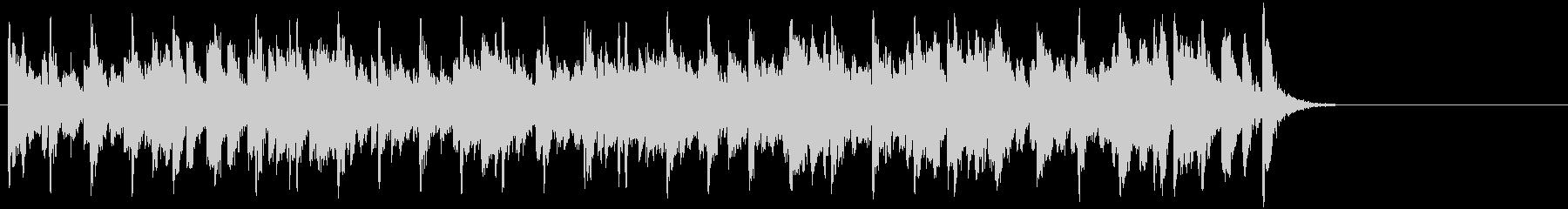 ほのぼのしたポップジャズ(Aメロ~サビ)の未再生の波形
