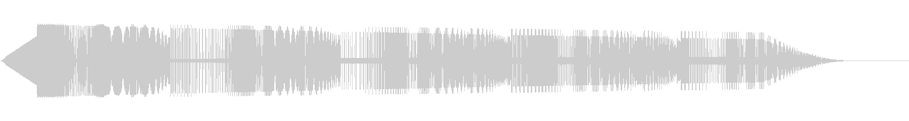 ピヨピヨ(レーザー光線/SF/ファミコンの未再生の波形