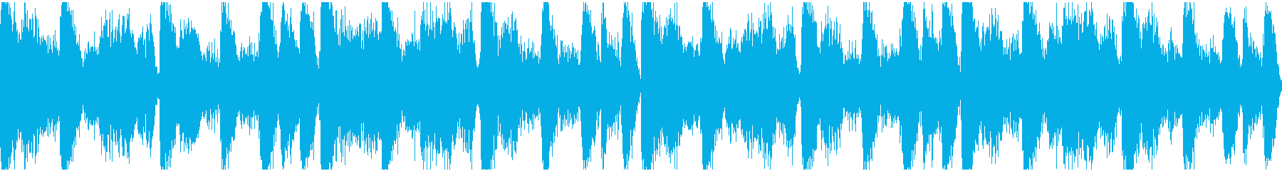 アンビエント系ヒップホップ ループの再生済みの波形