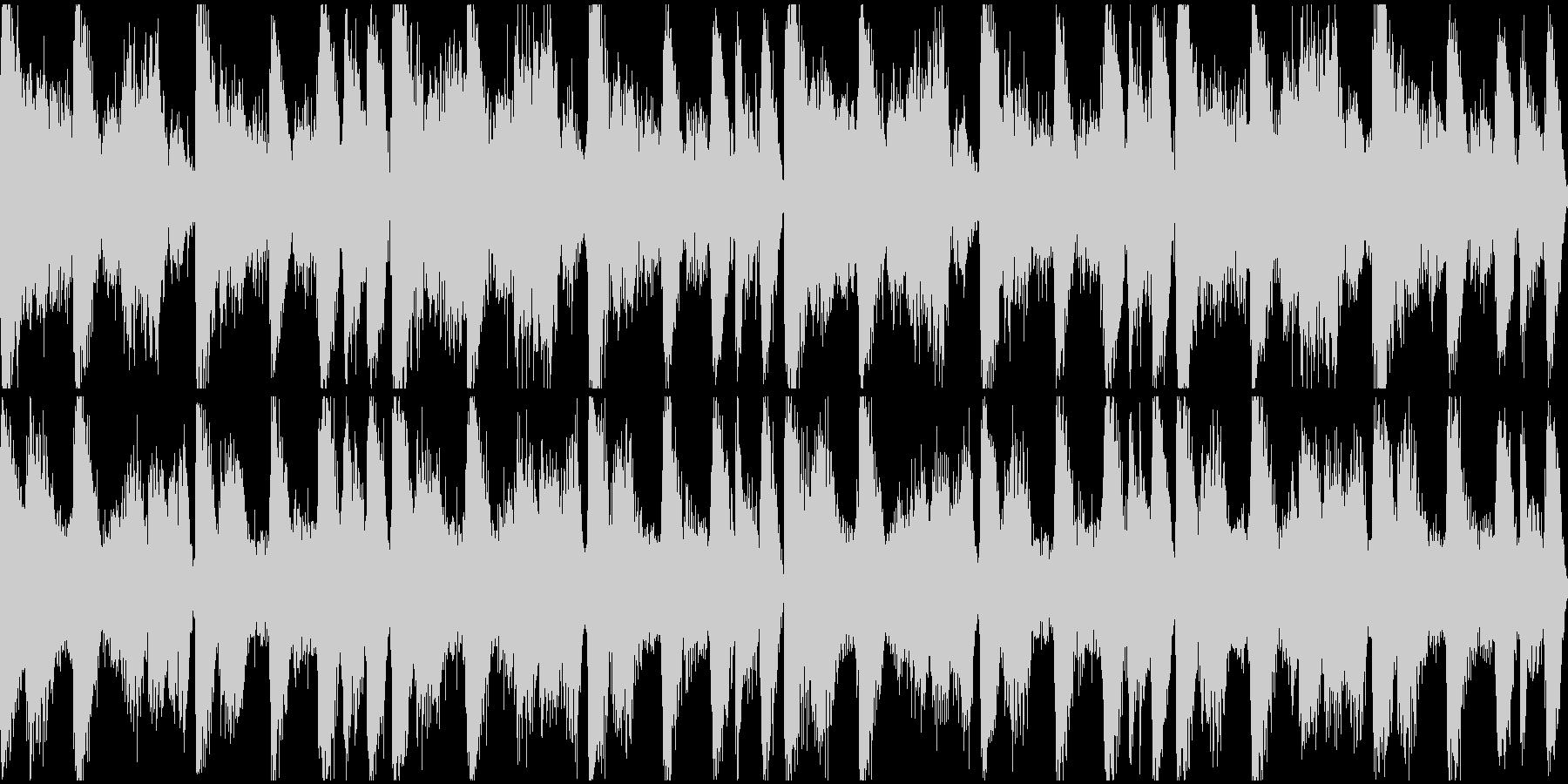 アンビエント系ヒップホップ ループの未再生の波形