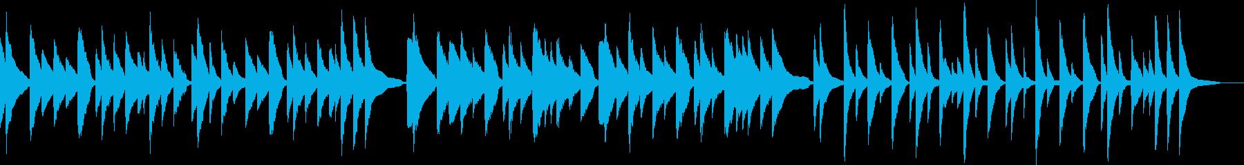 ピアノ 悲しい終わり・悲しいエンドロールの再生済みの波形