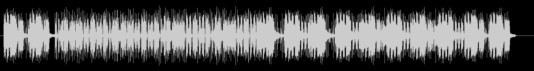 ミュートの入ったベース音が特徴のポップスの未再生の波形