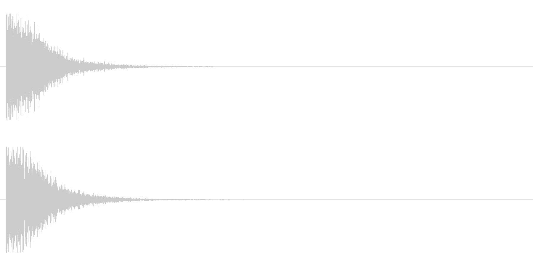 レーザー音-146-1の未再生の波形