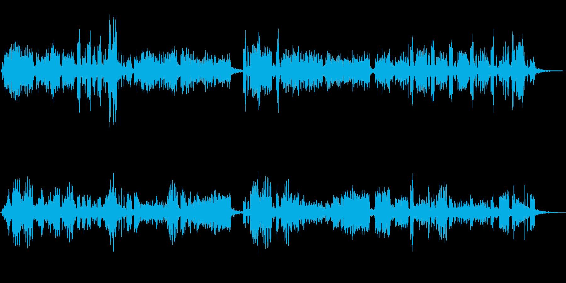 ピッコロソロのかわいらしいジングルの再生済みの波形