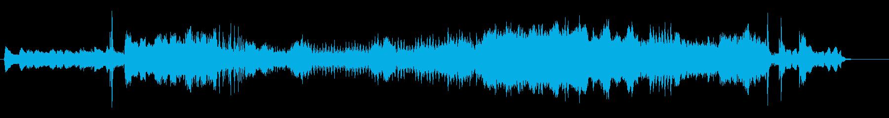 映画音楽風オーケストラ・アレンジの再生済みの波形