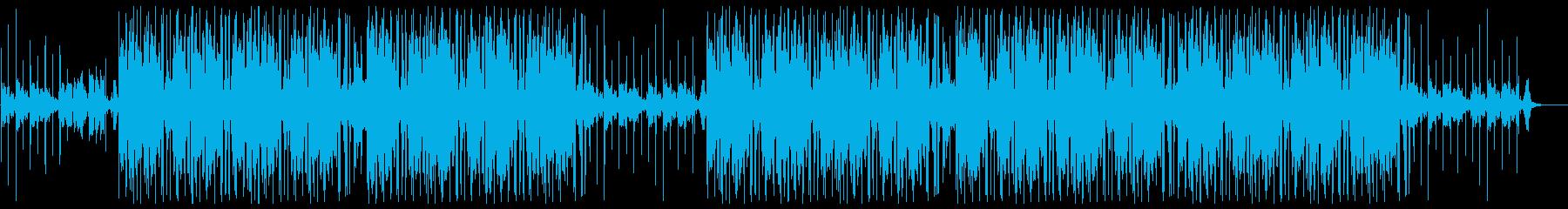 おしゃれかっこいいローファイヒップホップの再生済みの波形