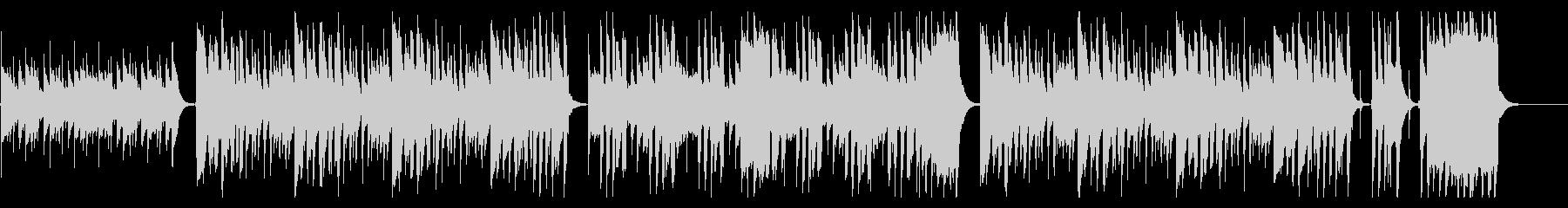 ほのぼの軽快なウクレレ・トイピアノ鍵ハモの未再生の波形