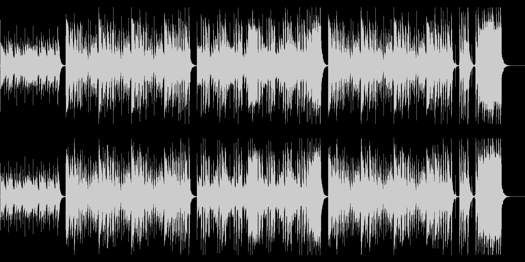 ❤❤❤ほのぼのウクレレ・トイピアノ鍵ハモの未再生の波形