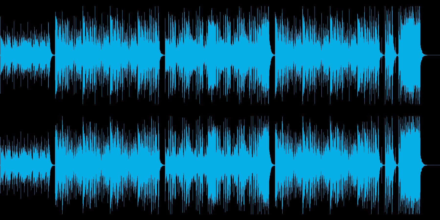❤❤❤ほのぼのウクレレ・トイピアノ鍵ハモの再生済みの波形