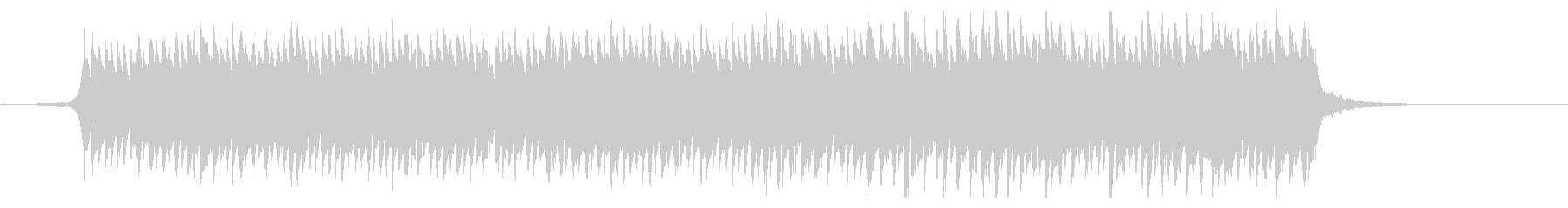 クラシックジングル 感動壮大なピアノの未再生の波形